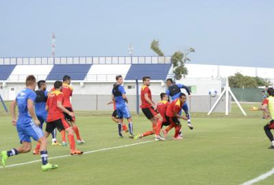 Boca Unidos fue goleado por Talleres de Córdoba, en otro duelo amistoso