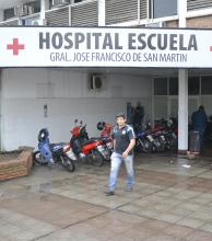 Dos heridos en rutas del interior fueron derivados a Corrientes