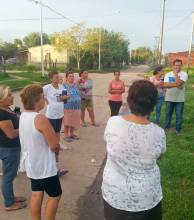 Expectativa por el comienzo de las obras para una comisaría en el barrio Ponce