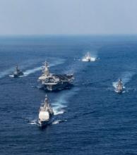 Portaaviones de EE.UU. estará en pocos días en aguas coreanas