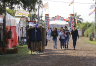 Con más de 400 cabezas, se habilitó la Exposición Rural