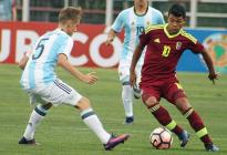 Argentina cayó ante Venezuela en el debut del Sudamericano Sub 17 en Chile