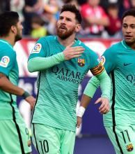 Messi decretó la victoria del Barça