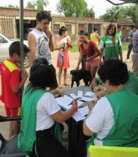 Realizaron operativos sanitarios en varios barrios