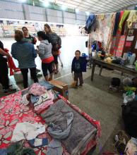 Desde Desarrollo Social garantizan la asistencia a los miles de inundados