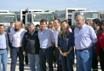 Inauguraron la nueva base del Servicio Público de Higiene Urbana