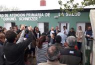 Goya: reinauguran centro de salud por demanda sanitaria