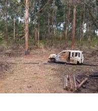 Camioneta desaparecida habría sido incendiada hace diez días