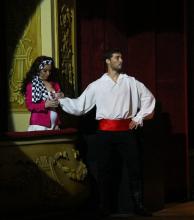 Danza, música y teatro se concentraron en un mismo espectáculo en el Vera