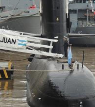 """Desaparición del submarino: declaran """"el estado de búsqueda y rescate"""""""