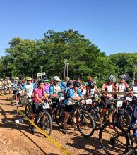 La travesía que reunió a más de 400 ciclistas de Argentina, Brasil y Uruguay