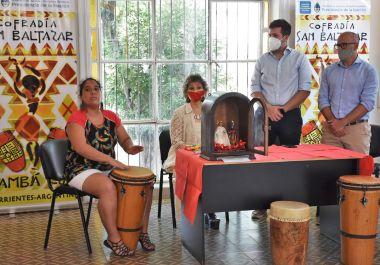 Con una muestra histórica se inició la fiesta de San Baltasar
