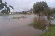 Goya inundada por fuertes lluvias y las bombas que no funcionaron