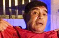 Maradona en el carnaval de Corrientes