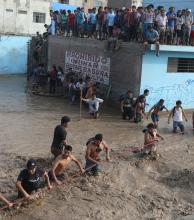 Perú: dramático rescate de los damnificados por aludes