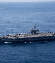 Portaaviones estadounidenses comienzan ejercicios navales