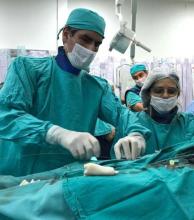 Otro inédito procedimiento se realizó en el Cardiológico