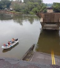Se inicia última etapa de trabajos para la colocación de los Bailey en puente roto