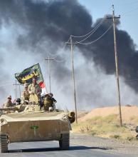 Las fuerzas iraquíes penetran en el último bastión del Estado Islámico