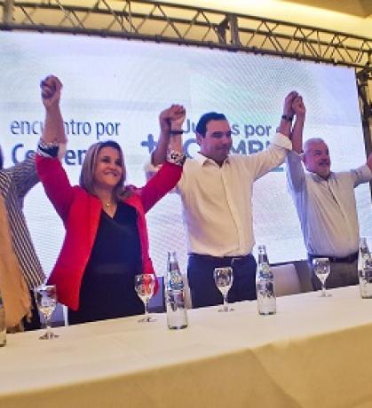 Presentaron los precandidatos de la Lista Verde de ECO para las PASO