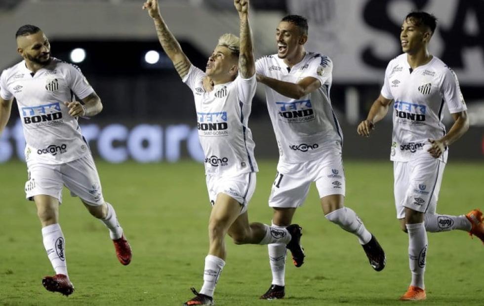 Boca fue goleado por Santos en Brasil y quedó eliminado de la Libertadores