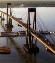 En febrero comenzarán los trabajos derecambio en las defensas del Puente