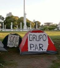 Recargan los turnos de la Policía para evitar adhesiones en el campamento