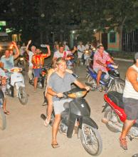 Itateños marcharon en apoyo a los detenidos en el operativo Sapucay