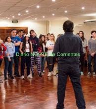 Bambalinas: master class de entrenamiento actoral en Corrientes