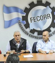 Ríos llevó sus propuestas de gestión a los empresarios