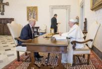 Donald Trump, de la paz con el papa Francisco al terrorismo en la Otan