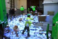 Papel y cartón de urnas y votos serán reciclados, el dinero se donará al Escuela