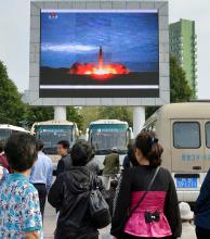 Kim Jong-un amenazó con más lanzamientos de misiles