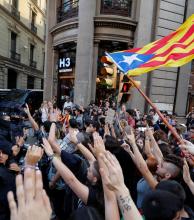 Huelga general y manifestaciones masivas en Cataluña