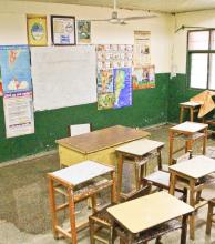 Reclamos por filtraciones y falta de personal de limpieza en escuela Nº 345