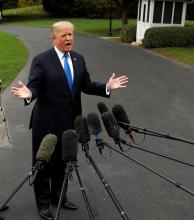 El presidente Trump anunció, no certificará el acuerdo nuclear con Irán