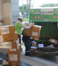Las más de 2.400 urnas utilizadas en las últimas elecciones serán recicladas