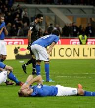 Italia no pudo con Suecia y se quedó afuera del Mundial