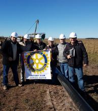 Inauguran el tramo del gasoducto entre Colonia Libertad y Curuzú Cuatiá