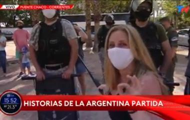 Duro testimonio de familia dividida por el Covid en el Puente Gral. Belgrano