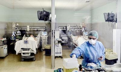 Murió otro paciente por Covid y hay más de cien internados en el Hospital de Campaña