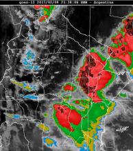Alerta por tormentas y lluvias abundantes en la región