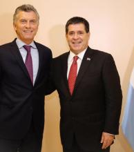 Macri y Cartés reunidos sin tocar el narcotráfico ni la EBY