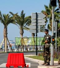 El presidente Macron rindió homenaje a las víctimas de Niza
