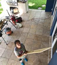 Un correntino que vive el segundo huracán en Miami