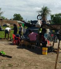 A un mes de la ocupación, en el Bº 17 de Agosto un centenar de familias resisten
