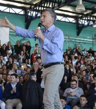 """Macri: """"Hemos logrado rescatar de la pobreza a más de 600.000 argentinos"""""""