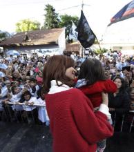 En San Martín, Cristina Kirchner alertó sobre las alzas en los servicios públicos