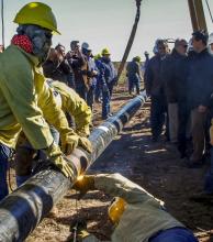 El gasoducto llevará el nombre de su impulsor ingeniero Sebastián Zugasti
