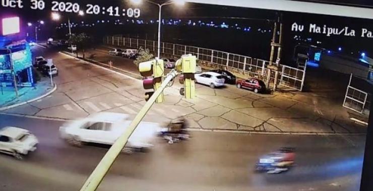 Así fue el incidente de Tassano que generó polémica en una avenida peligrosa
